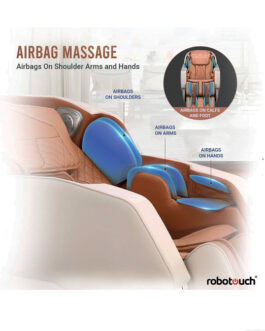 Robotouch Urban Pro Full Body Massage Chair – Champagne