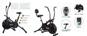 Best Air Bike India Fitness Exercise Cycle 2020