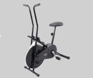 Lifeline 102 is the budget friendly exercise bike for home use in India, which is ideal for slimming and reducing your belly fat without much fuss. Display: Time, distance, calories burned, speed and scan Manual tension knob for adjusting the intensity of exercise Ergonomic adjustable-reach arms with padded grips Design: Steel frame body Adjustable seat height and handle position The handles do not react during the exercise Can be easily assembled by following the video instructions Free Tummy Trimmer in the box Max user weight: 80-90 kgs 12 months warranty