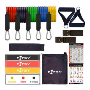 9. FITSY 16PCS Resistance Bands Set For Exercise