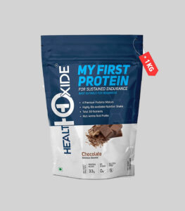 HealthOxide My First Protein Whey Protein Powder under 500